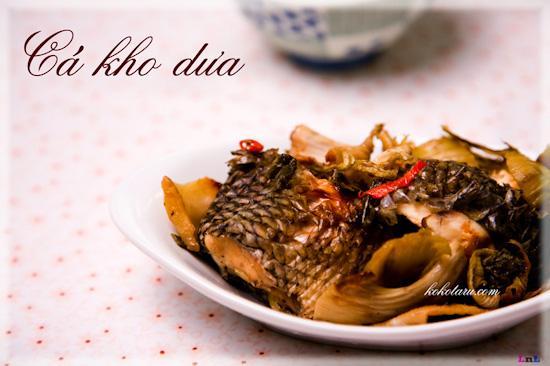 Món cá kho dưa ngon