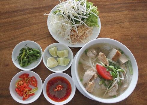 Bún cá dầm Nha Trang mát bổ