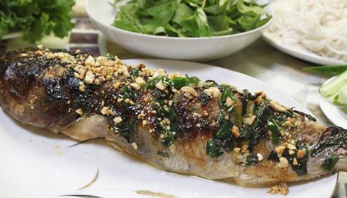 Cá ngừ nướng rất thơm ngon