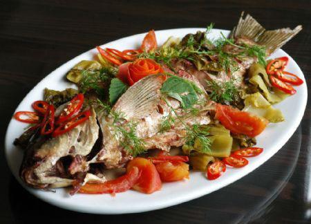 Món cá chép hấp luôn rất ngon và ngọt
