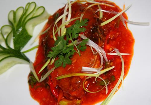 Đậm đà cá thu chiên sốt cà chua thơm ngon hấp dẫn