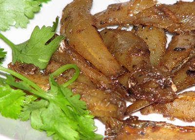 Hương vị hấp dẫn đặc biệt của những món ngon từ cá cơm