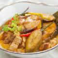 Cá nục kho chuối xanh